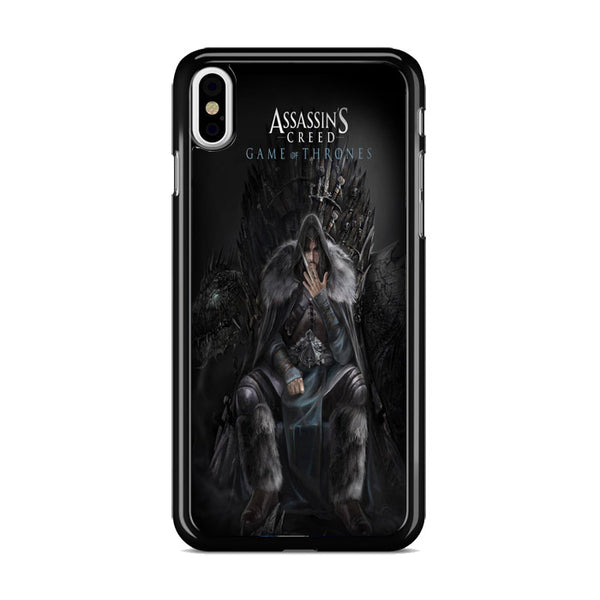 Assassins Creed Game Of Throne_ iPhone XS Max Case