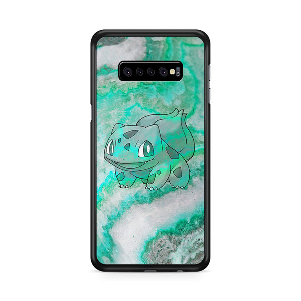 Bulbasaur Green Marble X Stone Samsung Galaxy S10 Plus Case