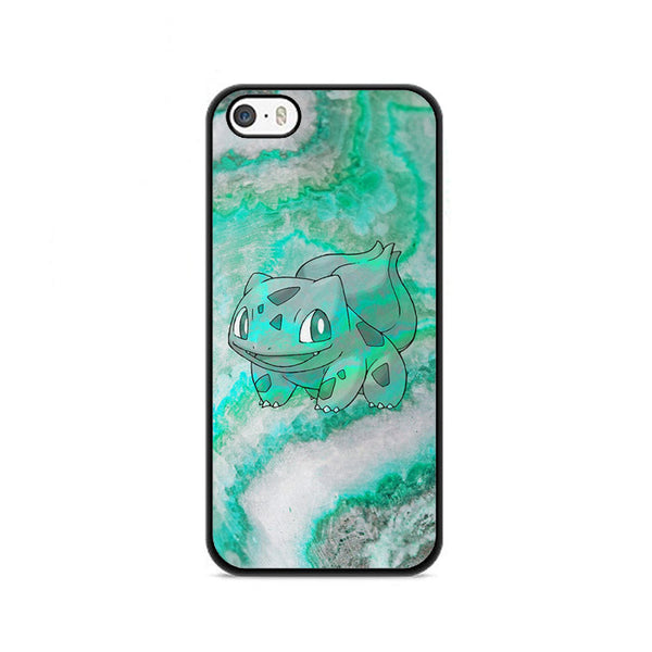 Bulbasaur Green Marble X Stone iPhone 5|5S|SE Case