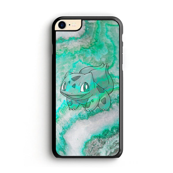 Bulbasaur Green Marble X Stone iPhone 8 Case