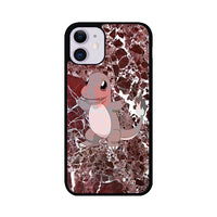 Charmander Maroon Marble X Stone iPhone 11 Case