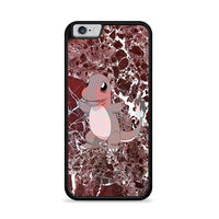 Charmander Maroon Marble X Stone iPhone 6|6S Case