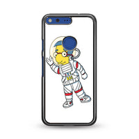 Astronout Bbc Cartoon_ Google Pixel Case