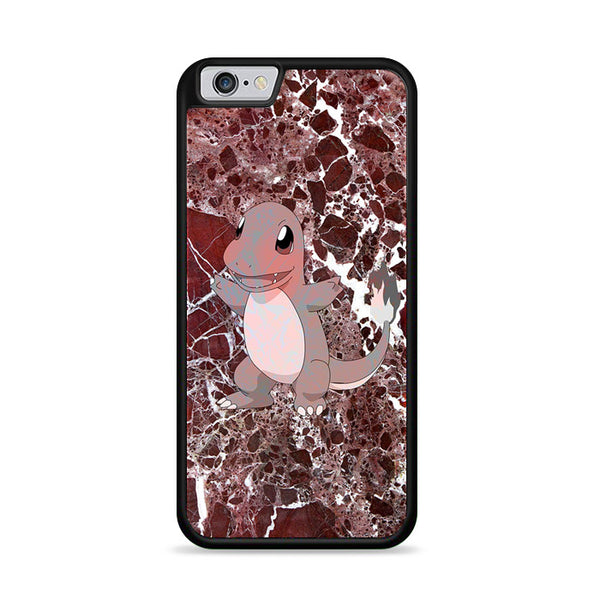 Charmander Maroon Marble X Stone iPhone 6 Plus|6S Plus Case