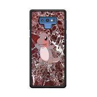 Charmander Maroon Marble X Stone Samsung Galaxy Note 9 Case