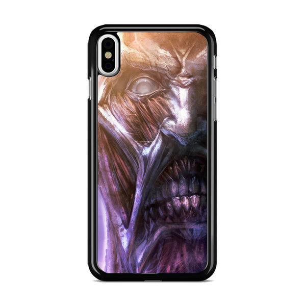 Attack On Titan Collosal Face Titan_ iPhone XS Case