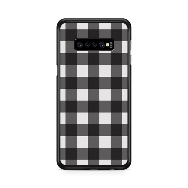 Check Me Out Checkerboard Samsung Galaxy S10 Case