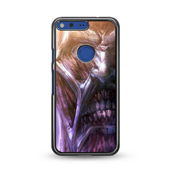 Attack On Titan Collosal Face Titan_ Google Pixel Case