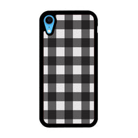 Check Me Out Checkerboard iPhone XR Case