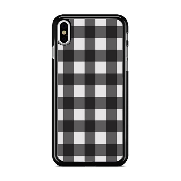 Check Me Out Checkerboard iPhone X Case