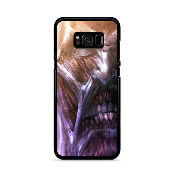 Attack On Titan Collosal Face Titan_ Samsung Galaxy S8 Case
