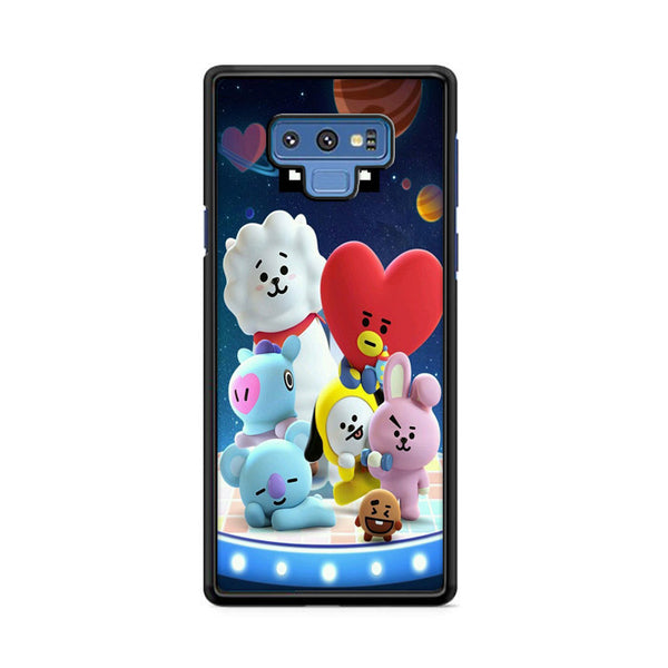 Bt21 3D Characters Samsung Galaxy Note 9 Case