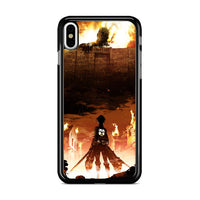 Attack On Titan Wall Maria_ iPhone X Case