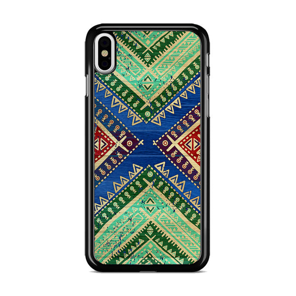 Colorful Aztec Bohemian iPhone XS Case