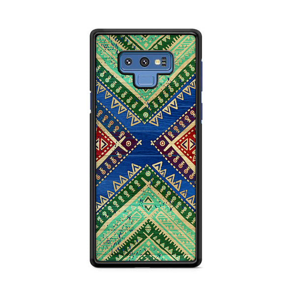 Colorful Aztec Bohemian Samsung Galaxy Note 9 Case
