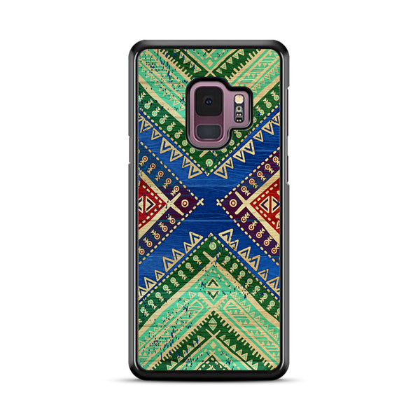 Colorful Aztec Bohemian Samsung Galaxy S9 Case