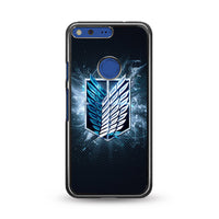 Attack On Titan Warrior Emblem_ Google Pixel Case
