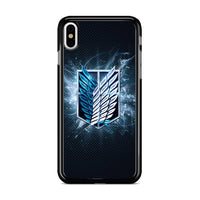 Attack On Titan Warrior Emblem_ iPhone X Case