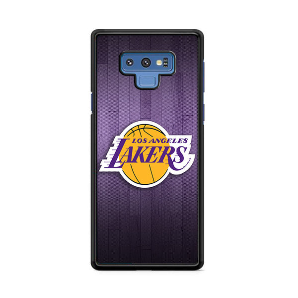 Lakers Los Angeles Team Basket Ball With Texture Samsung Galaxy Note 9 Case