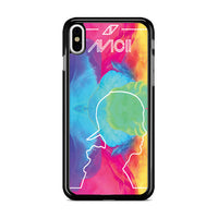 Avicii Tribute Rainbow_ iPhone XS Case
