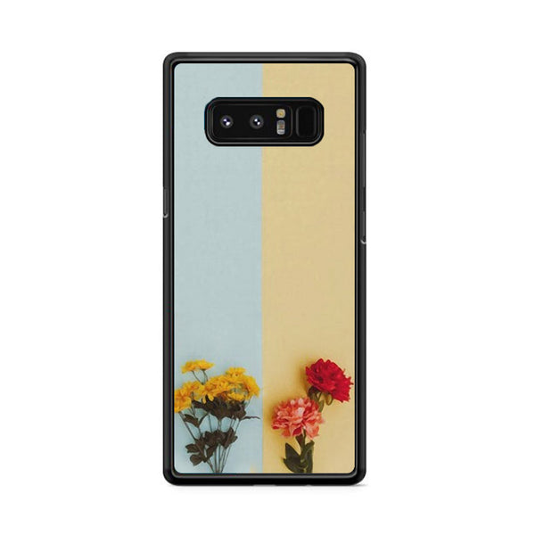 Flower Duality Painting Samsung Galaxy Note 8 Case