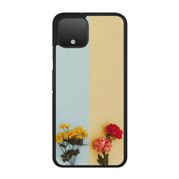Flower Duality Painting Google Pixel 4 Case