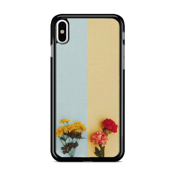 Flower Duality Painting iPhone XS Case