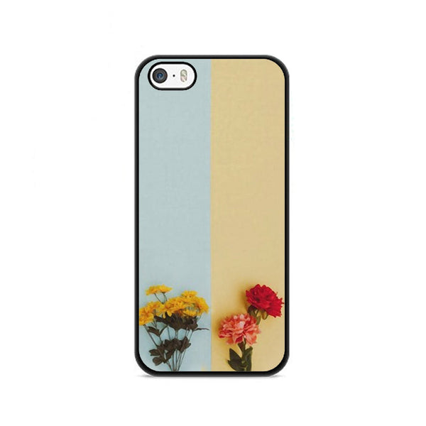 Flower Duality Painting iPhone 5|5S|SE Case