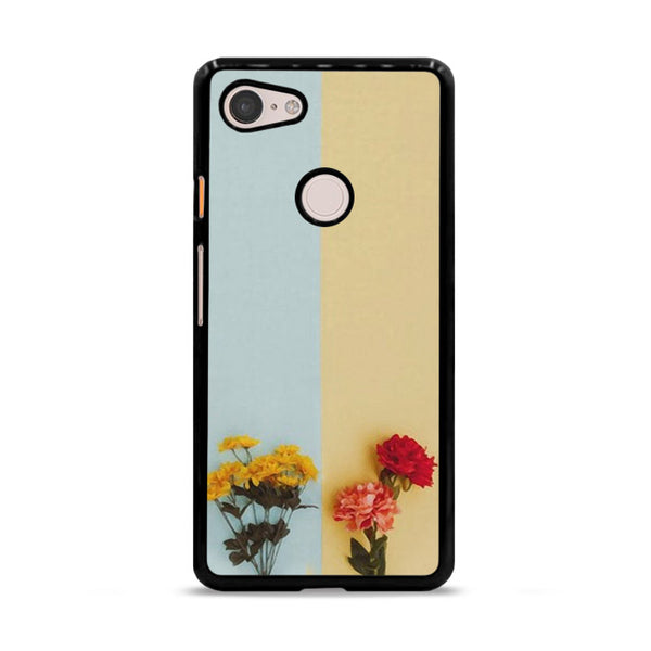 Flower Duality Painting Google Pixel 3 Case