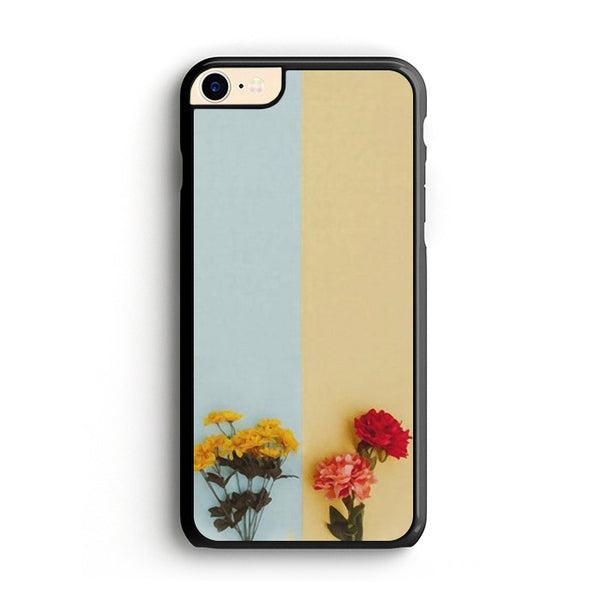 Flower Duality Painting iPhone 8 Case