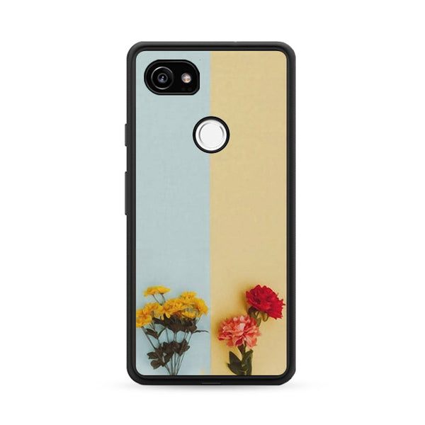 Flower Duality Painting Google Pixel 2 XL Case