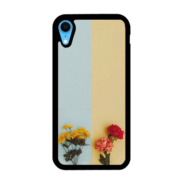 Flower Duality Painting iPhone XR Case