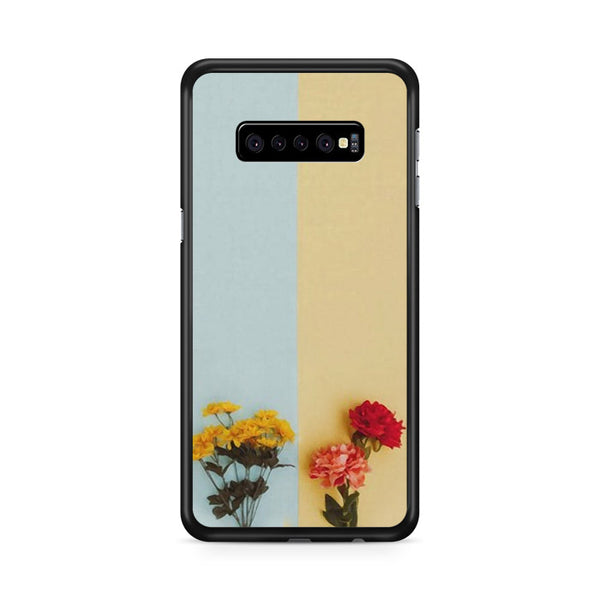 Flower Duality Painting Samsung Galaxy S10 Plus Case