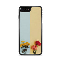 Flower Duality Painting iPhone 8 Plus Case