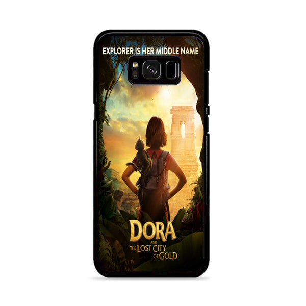 Dora Girl And Lost City Og Gold Samsung Galaxy S8 Plus Case