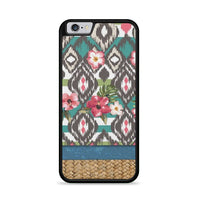 Hand Painted Tribal Flowers iPhone 6 Plus|6S Plus Case