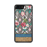 Hand Painted Tribal Flowers iPhone 7 Plus Case