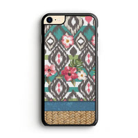 Hand Painted Tribal Flowers iPhone 8 Case