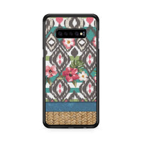 Hand Painted Tribal Flowers Samsung Galaxy S10e Case