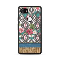 Hand Painted Tribal Flowers Google Pixel 2 XL Case