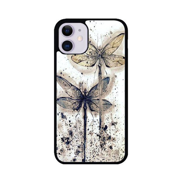 Dragonfly Painting Vintage iPhone 11 Case | Miloscase