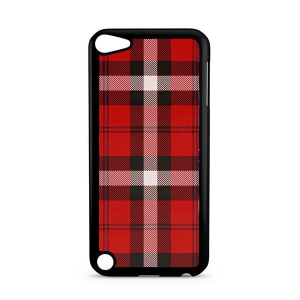 As If! Red Plaid  iPod 5 Case
