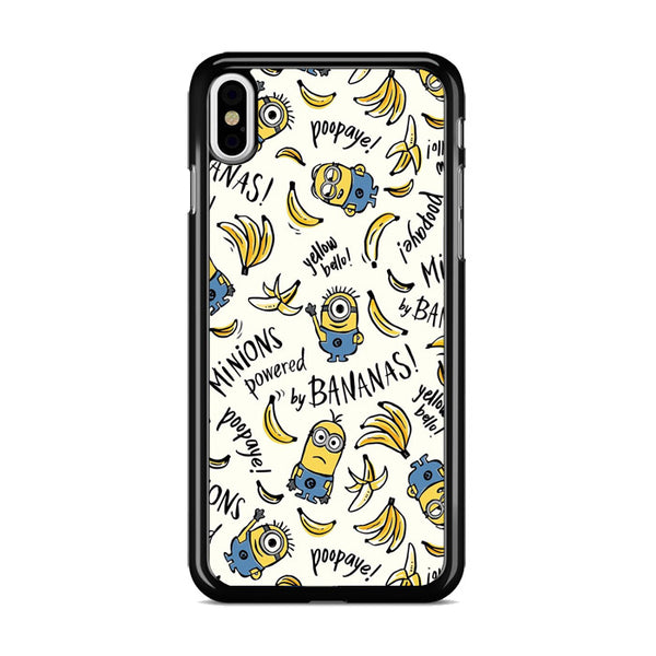 Banana Minions_ iPhone X Case