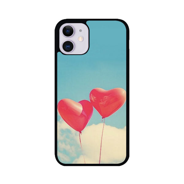 Heart Balloons iPhone 11 Case