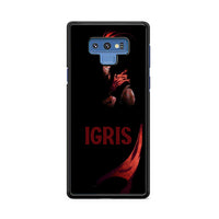 Manhwa Solo Leveling Red Igris Samsung Galaxy Note 9 Case