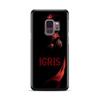 Manhwa Solo Leveling Red Igris Samsung Galaxy S9 Plus Case