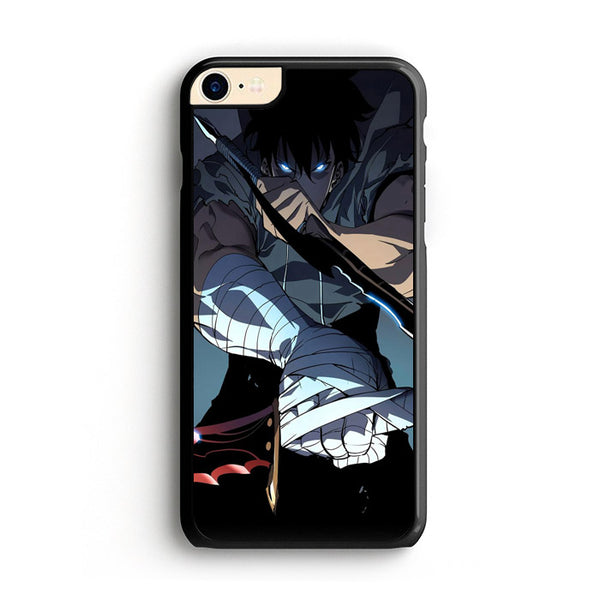 Manhwa Solo Leveling Sung Jin Woo Assassins iPhone 8 Case