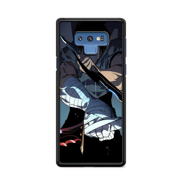 Manhwa Solo Leveling Sung Jin Woo Assassins Samsung Galaxy Note 9 Case