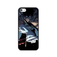 Manhwa Solo Leveling Sung Jin Woo Assassins iPhone 5|5S|SE Case
