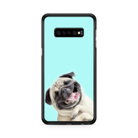 Fun Smile Pug Dog Samsung Galaxy S10e Case
